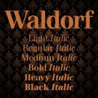 Tildes Autorfonti: Waldorf